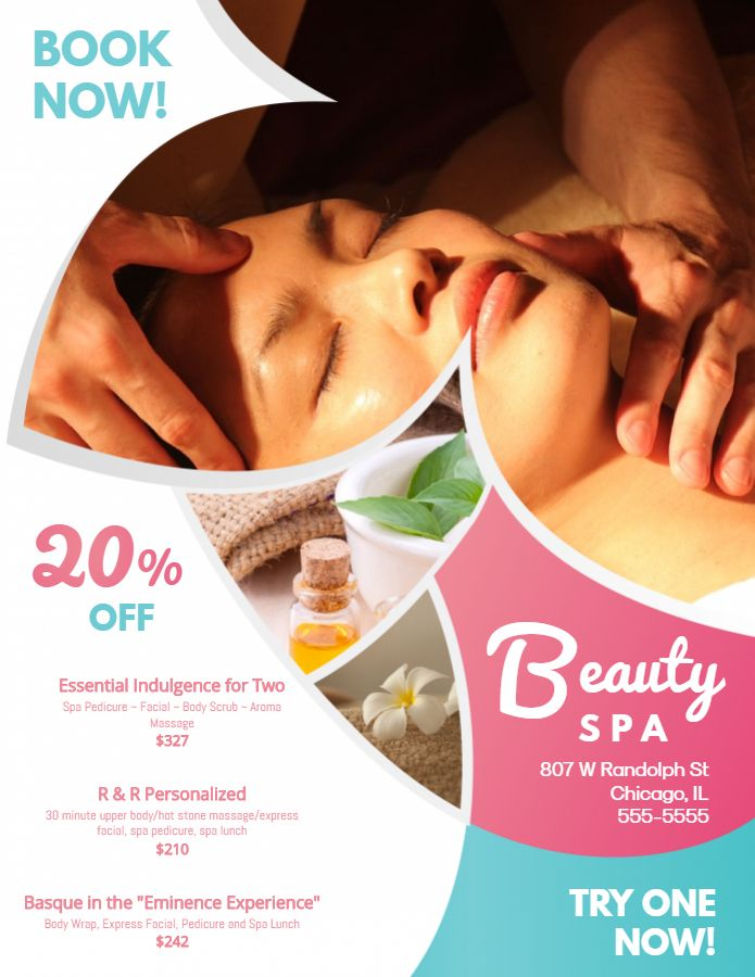 THIẾT KẾ POSTER SPA