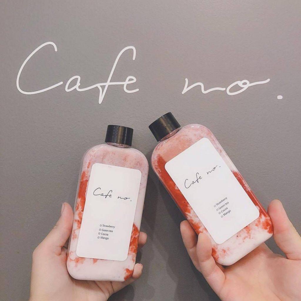 HÃN MÁC IN LÊN CHAI NHỰA CAFE