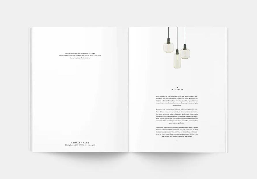 Catalogue Chuyên Nghiệp Cho Công Ty Nội Thất